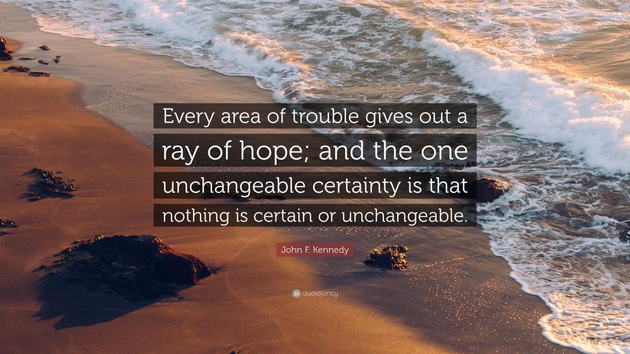 Unchangeable Certainty